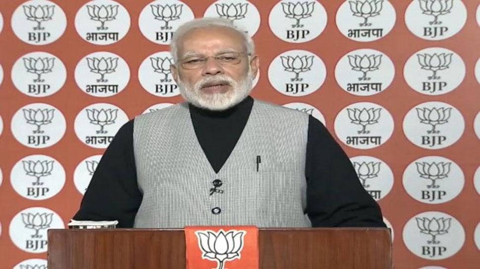 BJP में फैसले इस आधार पर नहीं होते कि एक परिवार क्या चाहता है : पीएम मोदी