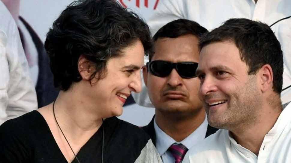 लखनऊ में हो सकती है प्रियंका-राहुल की पहली रैली, बीजेपी बोली, 'कोई फर्क नहीं पड़ेगा'
