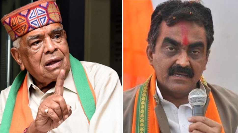 बाबूलाल गौर ने अपने घर में लगाई कमलनाथ की तस्वीर, BJP प्रदेश अध्यक्ष ने दिया अल्टीमेटम