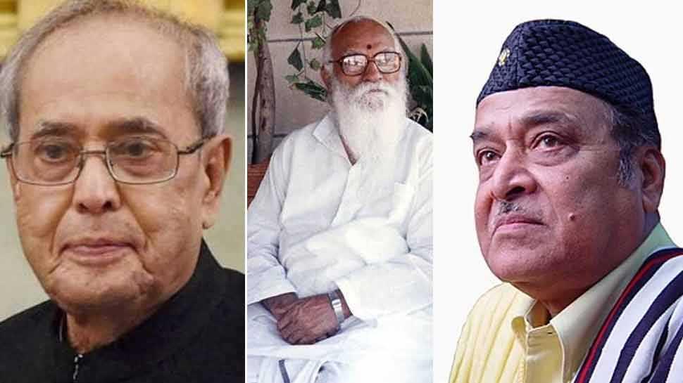 प्रणब मुखर्जी, नानाजी देशमुख और भूपेन हजारिका को भारत रत्न