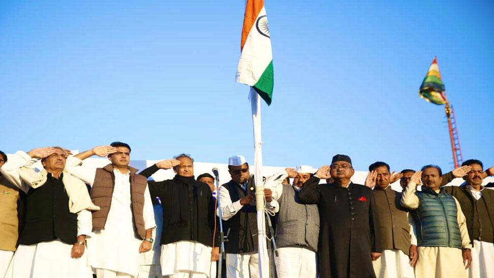 राजस्थान: CM अशोक गहलोत ने जनता को दी गणतंत्र दिवस की शुभकामनाएं