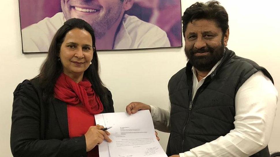 नवजोत सिंह सिद्धू की पत्नी ने चंडीगढ़ लोकसभा सीट से मांगा कांग्रेस का टिकट