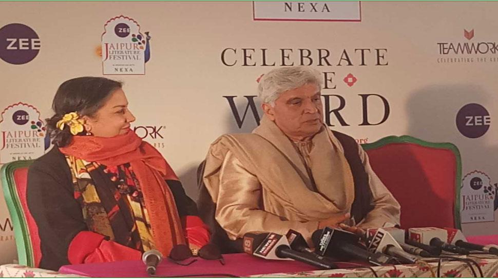 जयपुर लिट्रेचर फेस्टिवल: जब शबाना आजमी ने जावेद अख्तर को देख फरमाई शायरी!