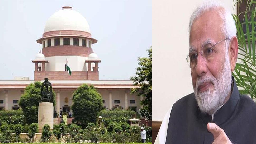 अयोध्या विवाद: मोदी सरकार ने SC से मांगी मंजूरी, कहा 'राम जन्मभूमि न्यास को लौटाएं अविवादित जमीन'