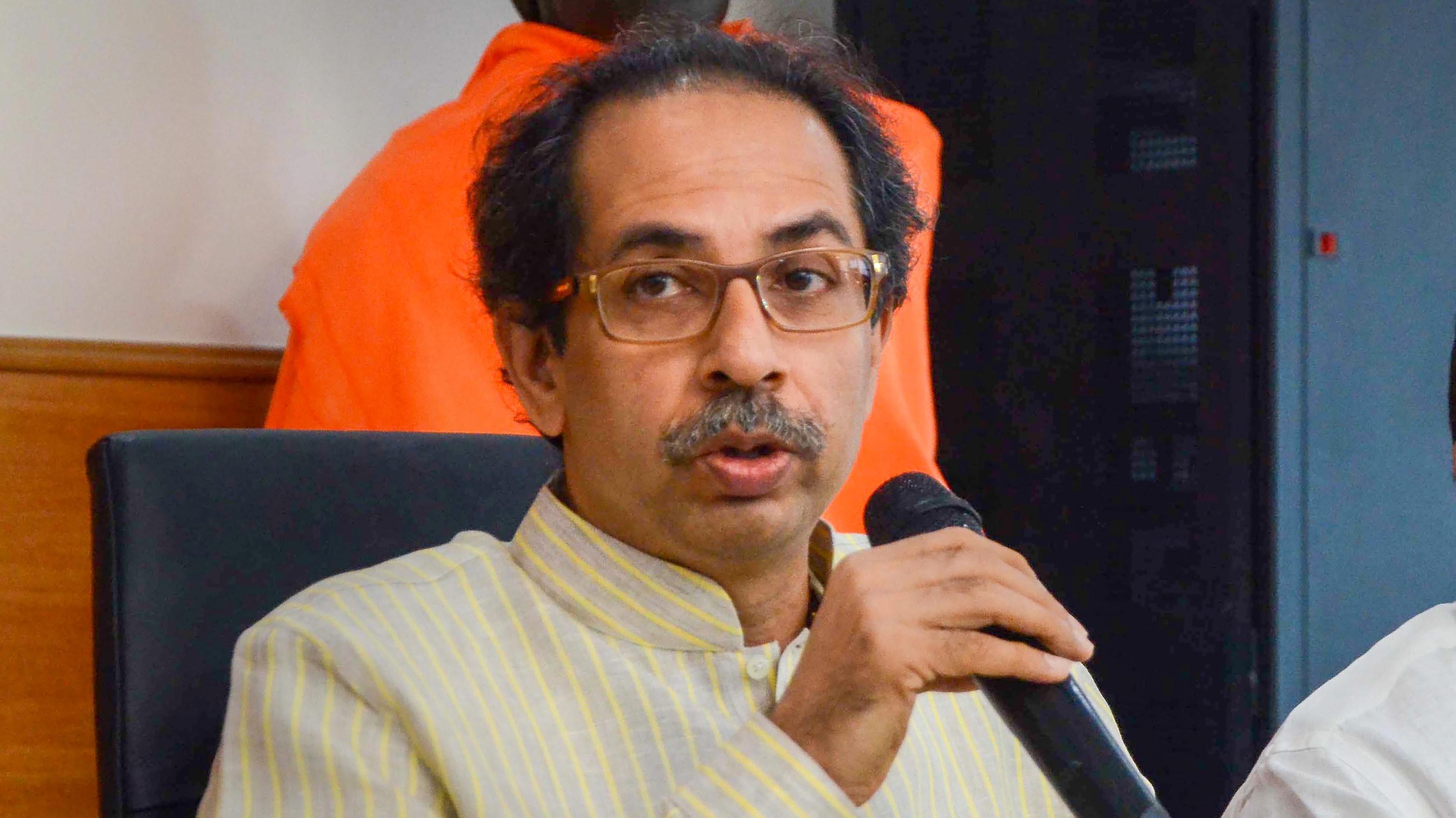 उद्धव ने शिवसेना सांसदों से कहा,'अपने क्षेत्रों पर दें ध्यान, BJP से गठबंधन का मुद्दा मुझ पर छोड़ें'
