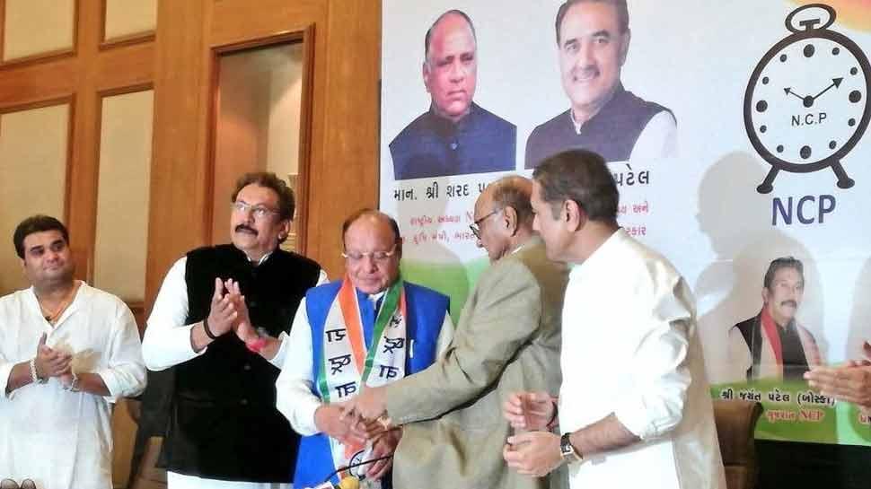 NCP ज्वॉइन करते ही शंकर सिंह वाघेला बीजेपी पर साधा निशाना, 'रूपाणी सरकार ICU में है'