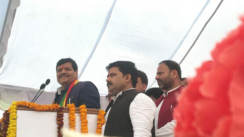 SP-BSP गठबंधन पर फिर बोले शिवपाल, कहा- 'माया ने समाजवादियों का सम्मान नहीं, जुल्म ढाए हैं'
