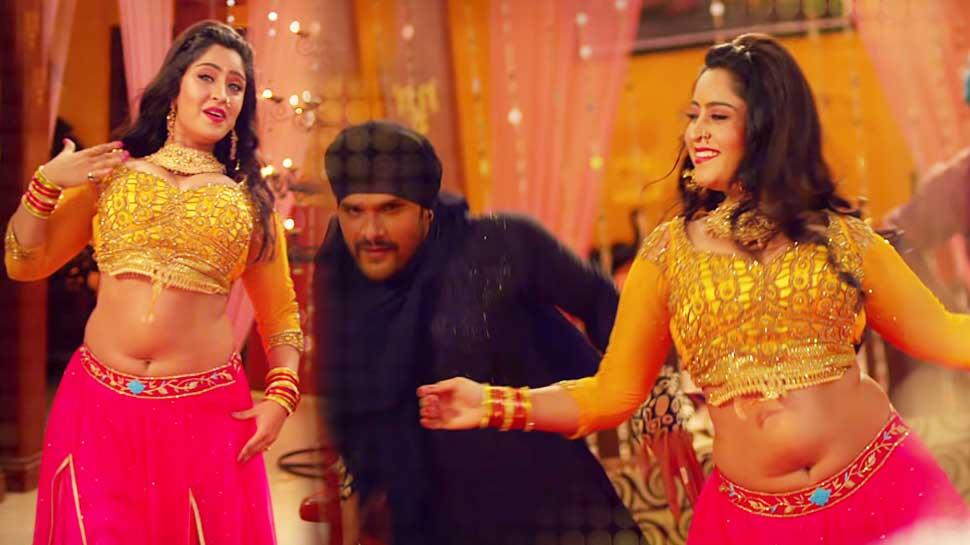 शुभी शर्मा के साथ खेसारीलाल का गाना हुआ वायरल, 1 करोड़ से ज्यादा बार देखा गया VIDEO