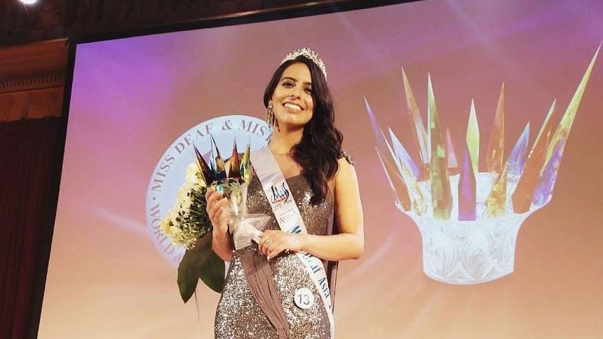 मिस डेफ एशिया 2018 निष्ठा डुडेजा बोलीं, सहानुभूति नहीं, बराबरी चाहिए