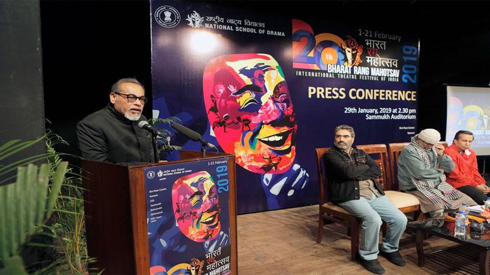 20वां भारत रंग महोत्सव 1 से 21 फरवरी तक, 69 भारतीय और 15 विदेशी नाटकों का होगा मंचन