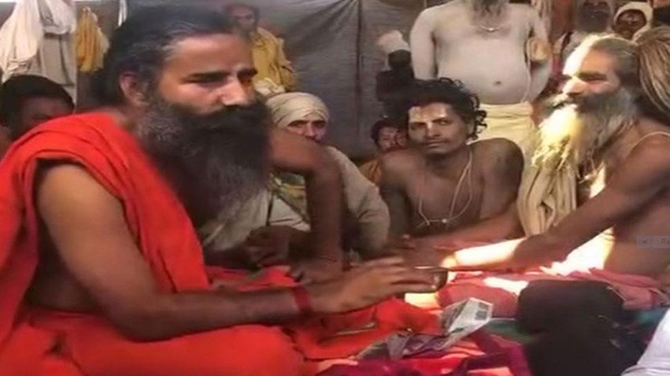 'राम, कृष्ण धूम्रपान नहीं करते थे, तो हम क्यों करें?' योग गुरु रामदेव ने साधु-संतों से कहा