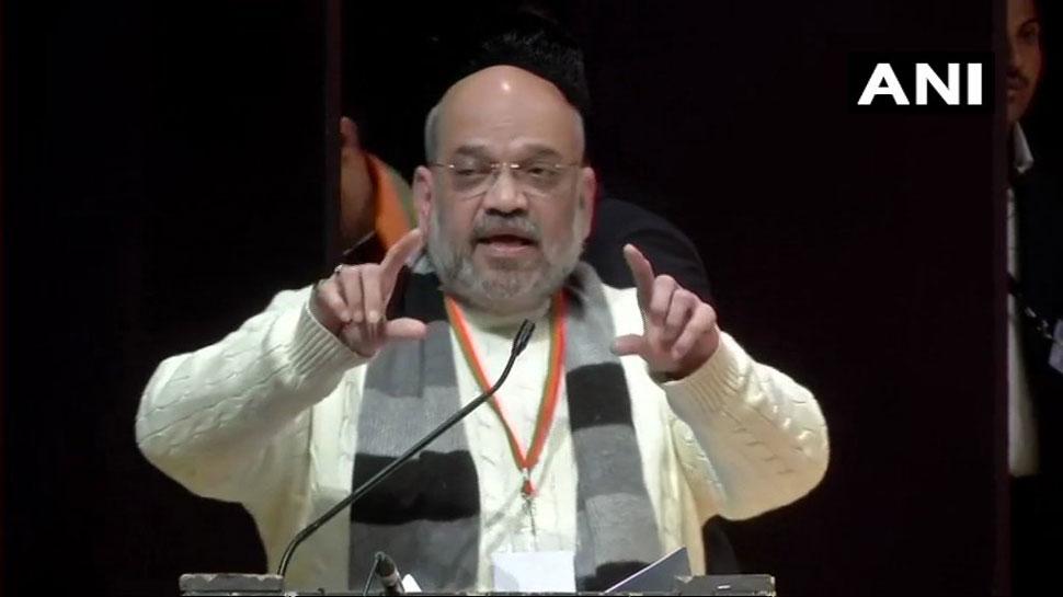 अमित शाह ने कहा, 'BJP शासित राज्यों में नहीं हुआ कोई बड़ा सांप्रदायिक दंगा'