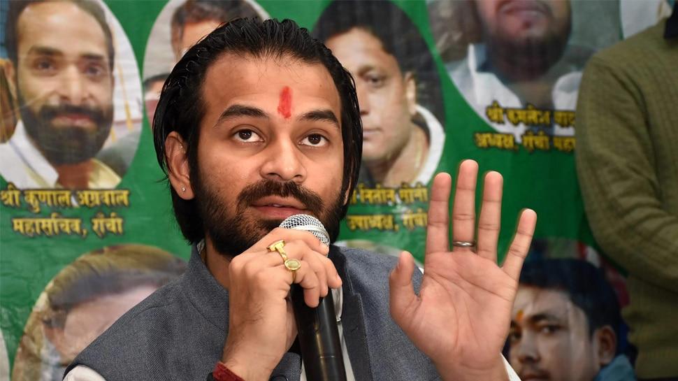 राहुल गांधी की रैली का नहीं मिला है न्यौता, बुलाएंगे तो जाएंगे : तेजप्रताप यादव