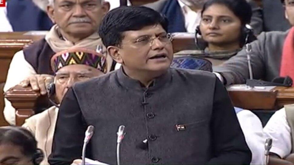 मुद्रा योजना के तहत अब तक बांटे गए 7.23 लाख करोड़ रुपए : पीयूष गोयल