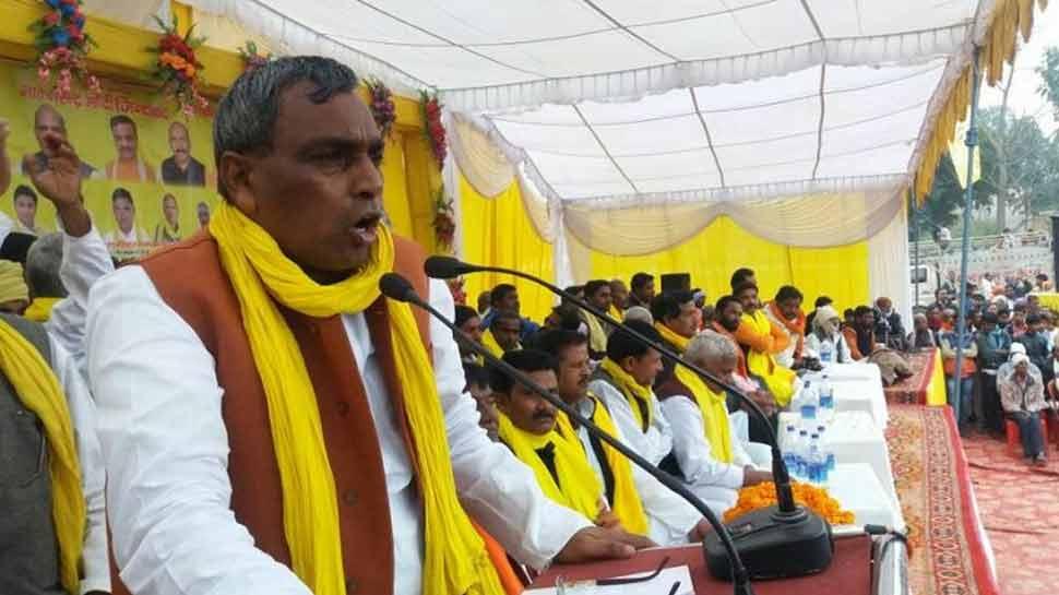 यूपी सरकार में मंत्री ओम प्रकाश राजभर बोले, 'देश में दंगा करवा सकती है BJP'