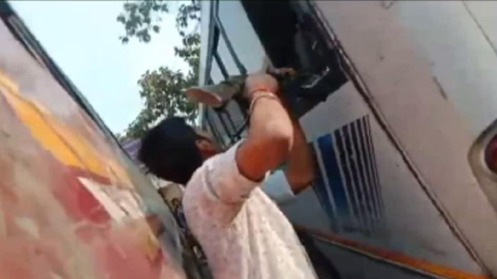 मुजफ्फरपुर : ट्रांसपोर्ट व्यवसायी की हत्या, पुलिस एनकाउंटर में एक अपराधी भी ढेर