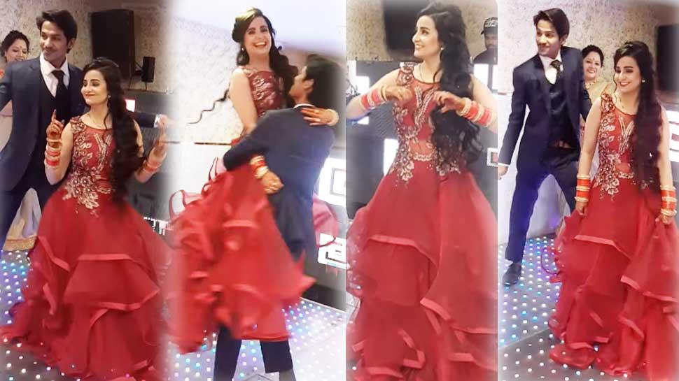 गोविंदा के गाने पर इस कपल का डांस हुआ वायरल, सगाई के वक्त बनाया गया VIDEO