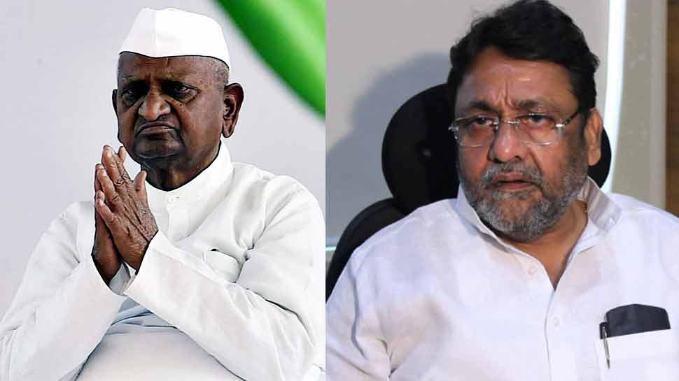 पैसे लेकर अनशन खत्म करने के आरोप पर अन्ना ने NCP नेता को भेजा नोटिस