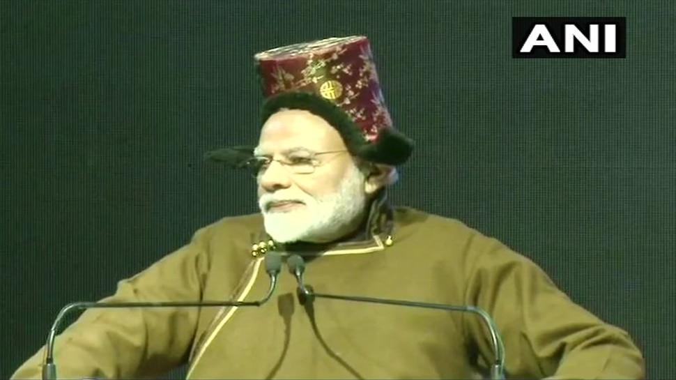 J&K: PM मोदी ने किया लेह एयरपोर्ट के नए टर्मिनल का शिलान्यास, बोले- 'लोकार्पण भी मैं ही करूंगा'