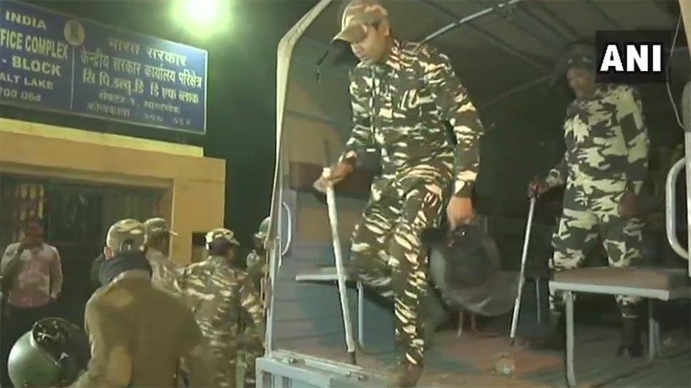 कोलकाता में पुलिस ने सभी सीबीआई अफसर छोड़े, CBI दफ्तरों पर सीआरपीएफ तैनात