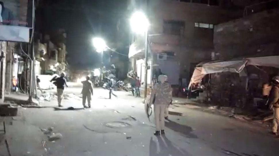 जोधपुर: वॉलीबॉल खेलने को लेकर हुआ था पथराव, इलाके में है अभी भी तनाव
