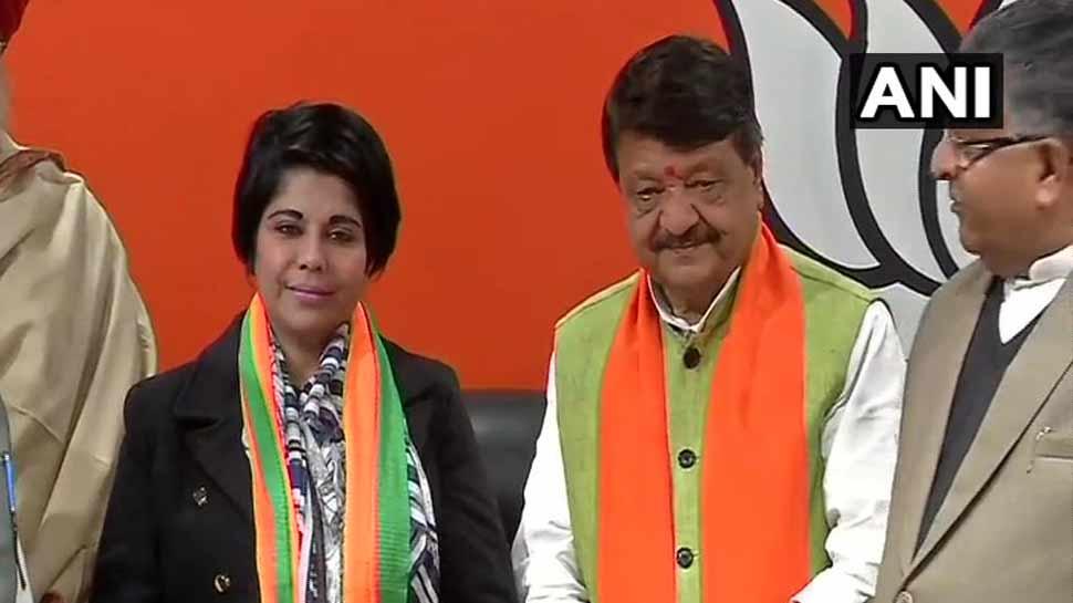 पूर्व IPS भारती घोष ने थामा BJP का दामन, कभी ममता बनर्जी की रही थीं खास