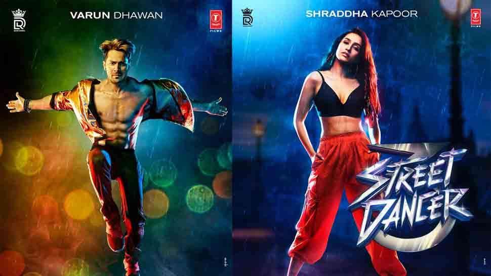 रिलीज हुआ वरुण-श्रद्धा की Street Dancer का पोस्टर, फिल्म 3D में मचाएगी धमाल