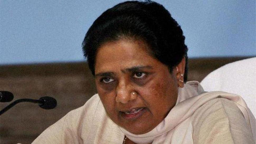 मायावती ने साधा निशाना, 'एसपी-बीएसपी गठबंधन से BJP में बौखलाहट'