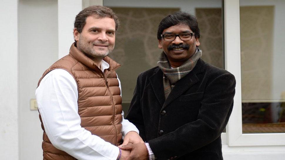 झारखंड में महागठबंधन का फॉर्मूला तय! दिल्ली में राहुल गांधी से मिले हेमंत सोरेन