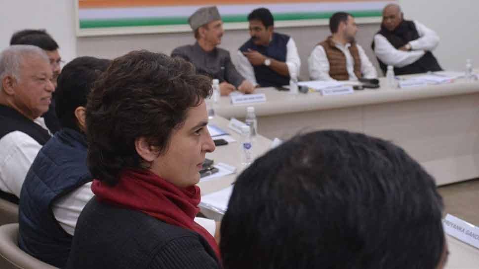 प्रियंका को AICC बैठक में आवंटित की गई राहुल से दूर की कुर्सी, आखिर क्या रही वजह