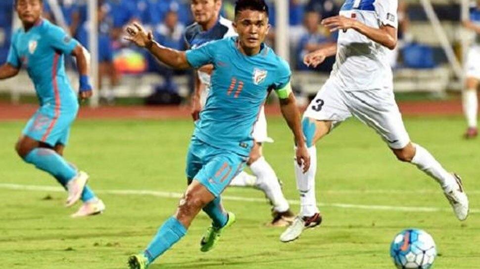 FIFA Ranking: भारतीय फुटबॉल टीम को 6 स्थान का नुकसान, 103 नंबर पर खिसकी