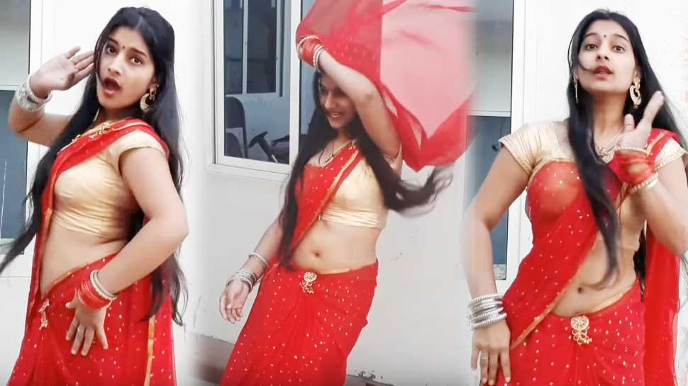 भोजपुरी गाने पर इस लड़की ने इंटरनेट पर मचाया धमाल, आप भी देखिए डांस का VIDEO