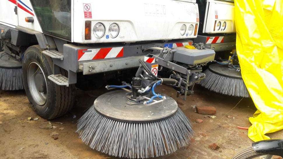 इटली और टर्की की मशीनों से होगी राजधानी पटना की सड़कों की सफाई
