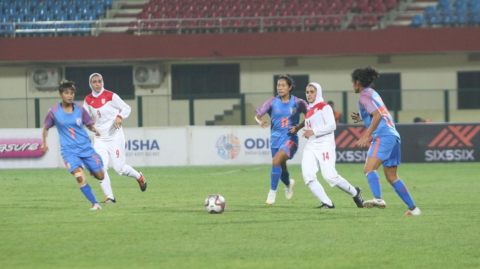 महिला फुटबॉल: गोल्ड कप में भारत ने जीत के साथ खोला खाता, ईरान को हराया