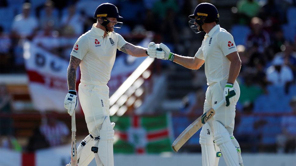 Gros Isle Test:  इंग्लैंड ने बनाई 142 रनों की बढ़त, दूसरी पारी में बिना विकेट खोए बनाए 19 रन