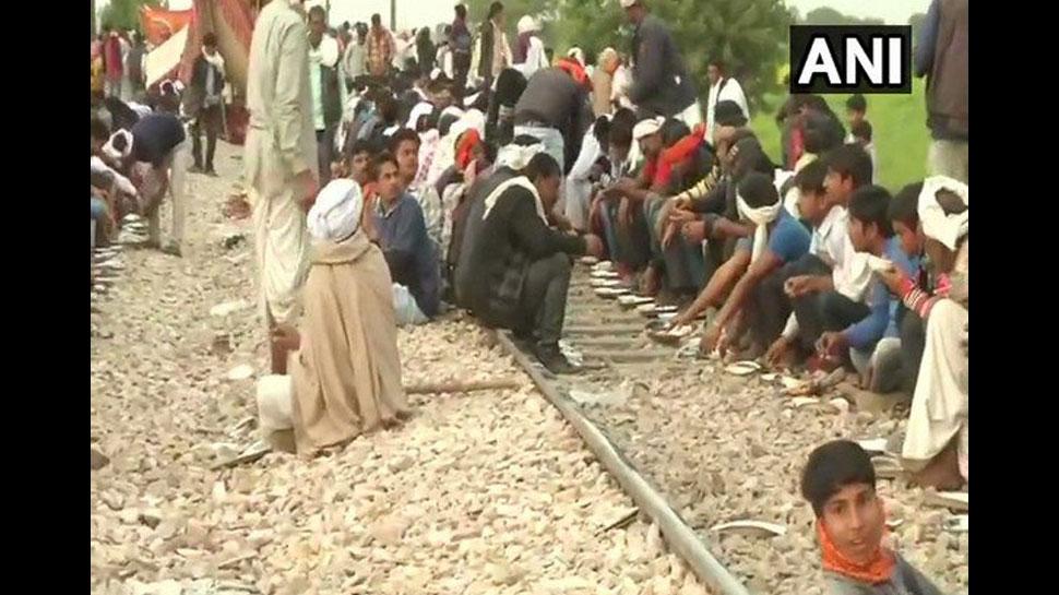 राजस्थान गुर्जर आंदोलन: 3 ट्रेनें रद्द, सवाई माधोपुर में बंद की इंटरनेट सेवा