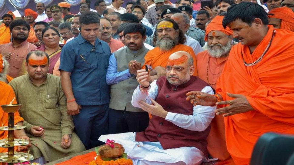 BJP अध्यक्ष अमित शाह 13 फरवरी को कुंभ में लगाएंगे आस्था की डुबकी, साधु-संतों से करेंगे मुलाकात