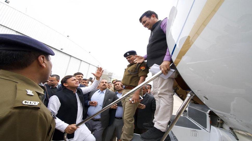 VIDEO: जैसे आज अखिलेश को रोका गया, कभी सपा सरकार ने योगी को भी इलाहाबाद में घुसने नहीं दिया था