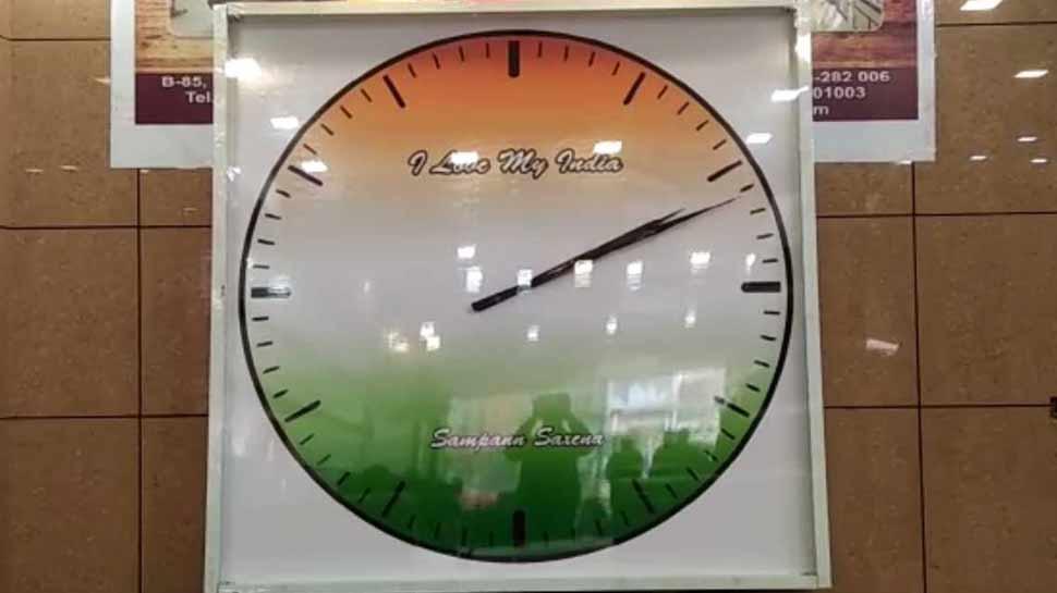 ताज नगरी के छात्र ने बनाई दुनिया की सबसे बड़ी घड़ी, लिम्का बुक में दर्ज हुआ नाम