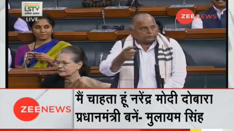 मुलायम सिंह ने पीएम मोदी की तारीफ की, कहा- हम सब चाहते हैं कि वह फिर से प्रधानमंत्री बनें