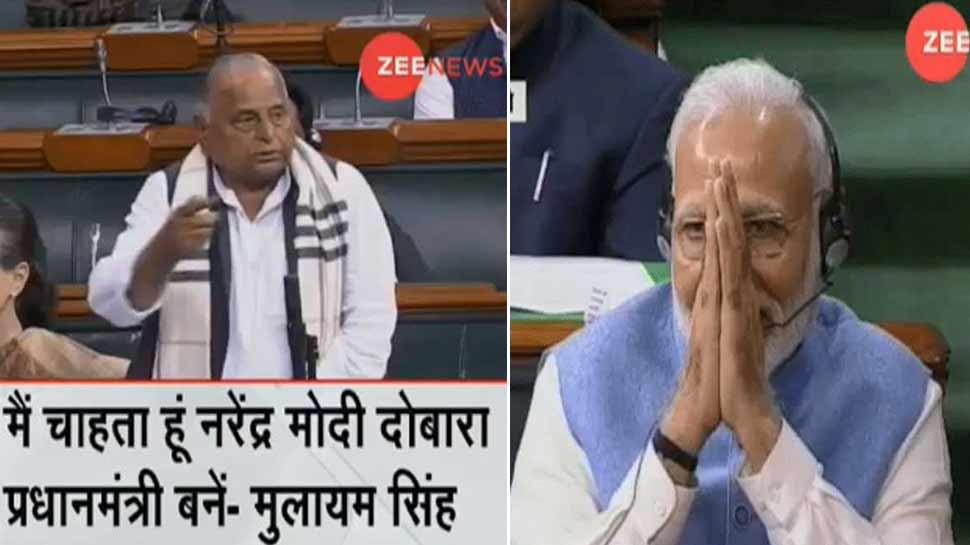 मुलायम सिंह ने कहा- फिर से PM बने मोदी, सपा बोली- मनमोहन सिंह से भी यही कहा था