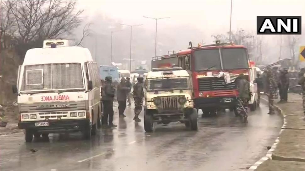 जम्मू-कश्मीर: 'उरी' के बाद सबसे बड़ा आतंकी हमला, जैश-ए-मोहम्मद ने ली जिम्मेदारी