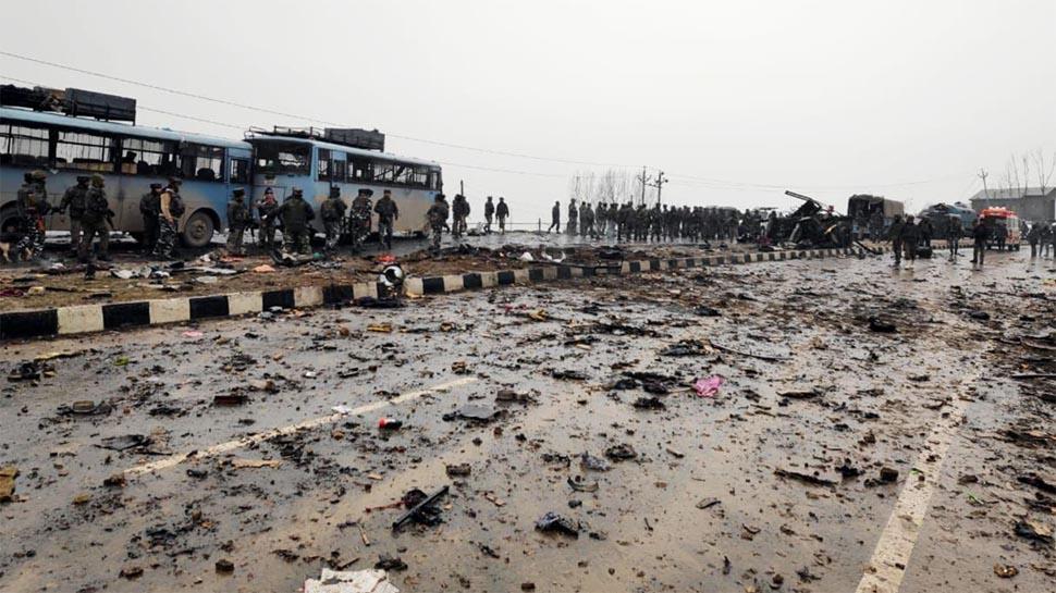जम्मू-कश्मीर में अब तक का सबसे बड़ा आतंकी हमला, 40 जवान शहीद