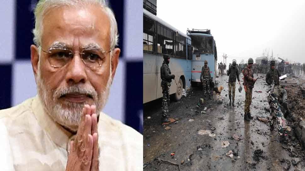 पुलवामा हमलाः शहीदों के पार्थिव शरीर को दिल्ली लाया जाएगा, पीएम मोदी देंगे श्रद्धांजलि