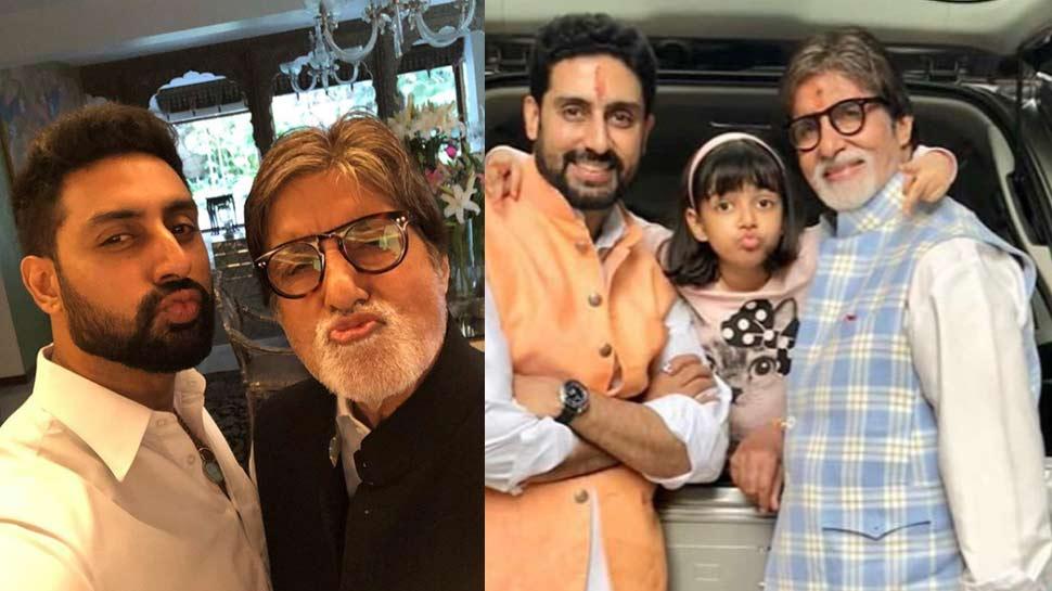 महानायक अमिताभ बच्चन ने किए इंडस्ट्री में 50 साल पूरे, बेटे अभिषेक ने ऐसे किया सेलीब्रेट