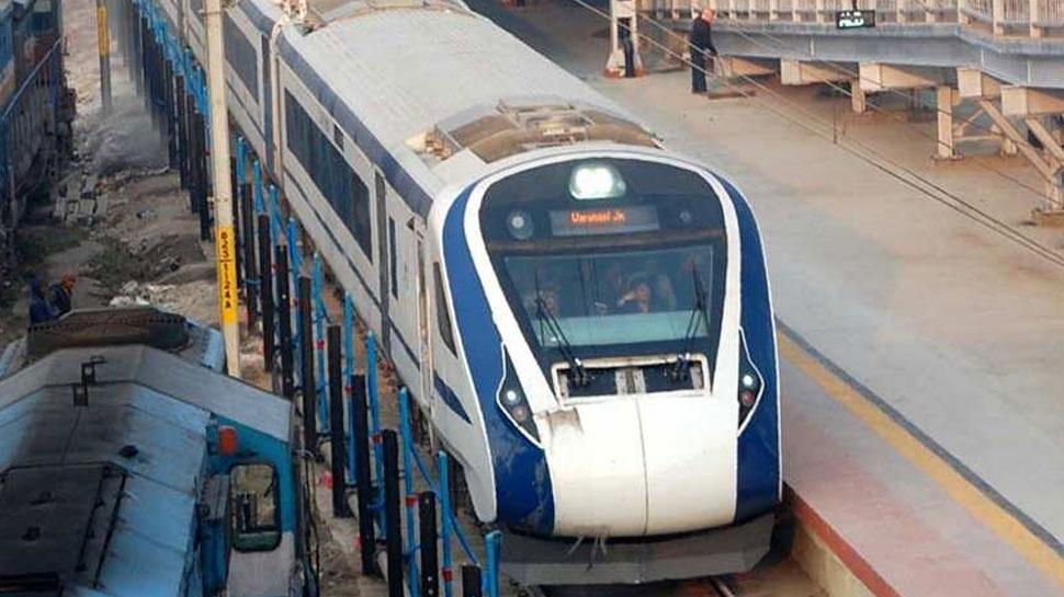 टूंडला के पास बंद हुई ट्रेन-18, कल नई दिल्ली से हुई थी रवाना
