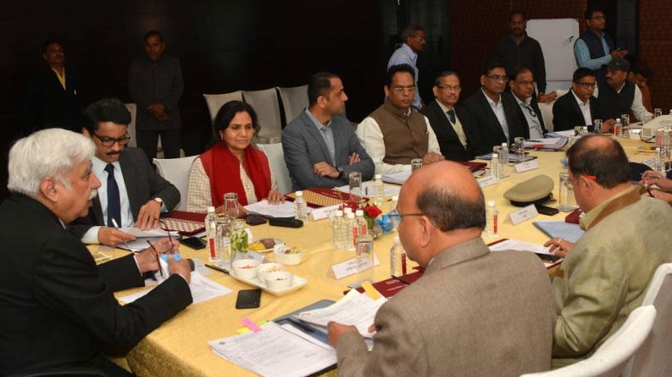 राजस्थान: CEC ने मुख्य सचिव, DGP के साथ की बैठक, चुनाव के तैयारियों की ली जानकारी