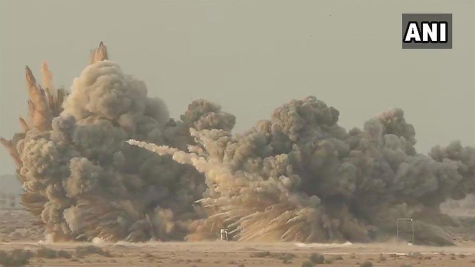 VIDEO: पोखरण में वायु शक्ति 2019 से इंडियन एयरफोर्स ने दुश्मन को दिखाई अपनी ताकत