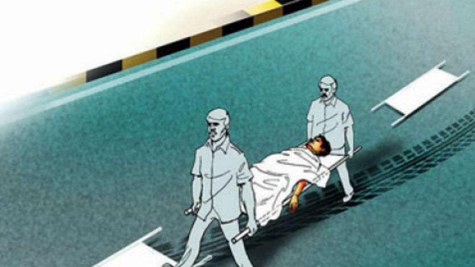 धौलपुर: बेकाबू ट्रक ने 3 लोगों को कुचला, मौके पर ही हो गई मौत
