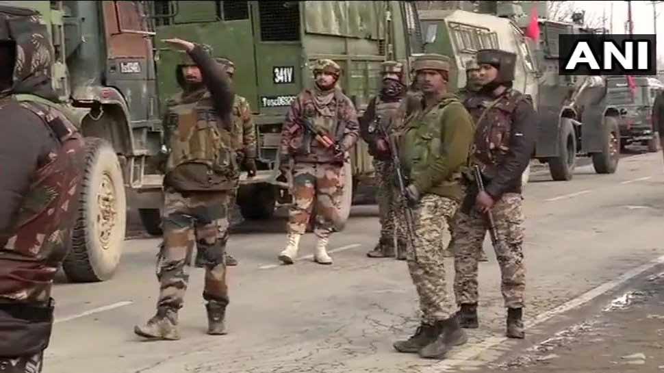 LIVE: पुलवामा में एनकाउंटर के बाद पत्थरबाजी शुरू, 2 आतंकी ढेर